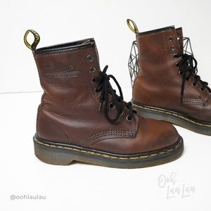 Dr. Martens Shoes - Dr Martens Made In England Vintage Leather Boots